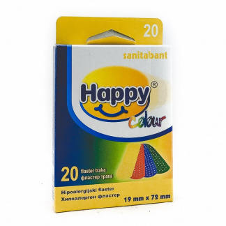 Happy Colour Фластер, 20