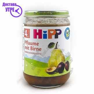 Hipp Слива со Круша, 190г