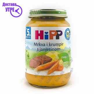 Hipp Морков и Компир со Јагнешко, 190г