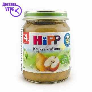 Hipp Јаболко со Круша, 125г