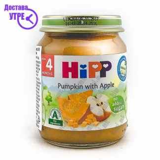 Hipp Тиква со Јаболко, 125г