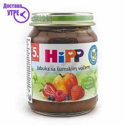 Hipp Јаболко со Шумско Овошје, 125г