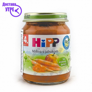 Hipp Морков со Јаболко, 125г