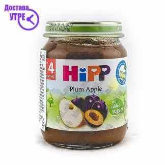 Hipp Слива со Јаболко, 125г