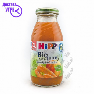 Hipp Сок од Јаболко и Морков, 200мл