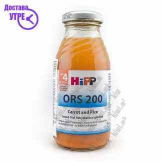 Hipp Раствор за Рехидратација Морков, 200мл