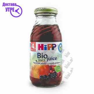 Hipp Сок од Јаболко и Црвени Плодови, 200мл