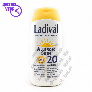 Ladival Sun Protection Gel Млеко за Сончање со СПФ 30, 200мл
