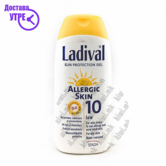 Ladival Sun Protection Gel Гел за Сончање со СПФ 10, 200мл