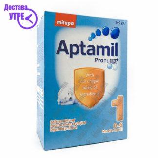Aptamil 1 Млечна Формула 0-6 месеци, 800г