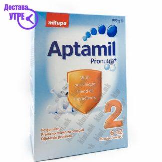 Aptamil 2 Млечна Формула 6-12 месеци, 800г