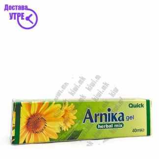 Quick Arnika Herbal Mix гел, 40мл