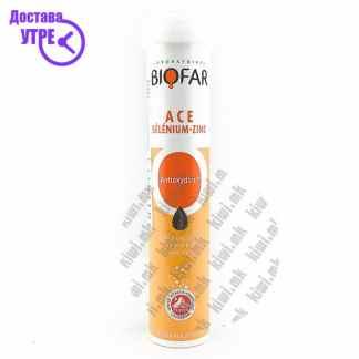 Biofar ACE+Селен+Цинк шумливи таблети, 20