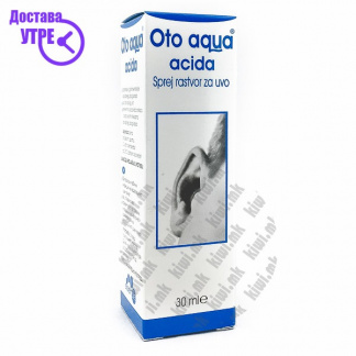 Oto Aqua Acida Спреј за Уво, 30мл