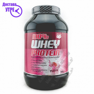 Shape Up Whey Protein 100% Вкус Малина, 908г