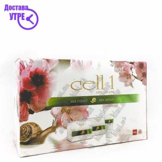 Cell-1 Регенератива Гел-крема 2 + Крема за Раце со Екстракт од Полжав