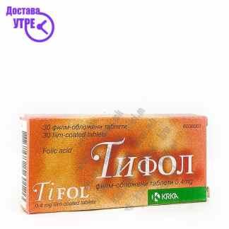 Тифол таблети, 30