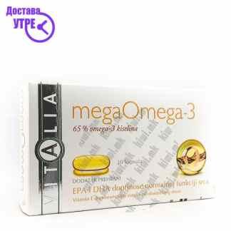 Vitalia Mega Омега-3 капсули, 30