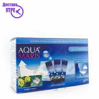 Aqua Maris Морска Сол со Етерични Масла кесички, 30