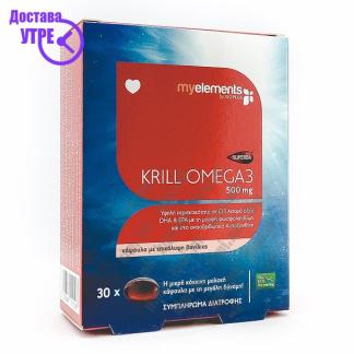 Krill Omega-3 капсули, 30