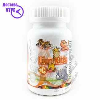 CaliVita Lion Kids + Витамин Ц таблети, 90