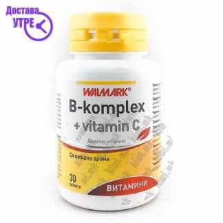 Walmark Б-Комплекс + Витамин Ц таблети, 30